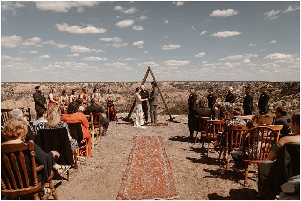 Palo duro canyon wedding, palo duro canyon elopement, places to elope in texas, places to get married in texas, camping wedding, boho wedding, boho elopement, elopement photographer, texas elopement photographer, texas elopements, outdoor adventure wedding, Texas adventure elopement, brit nicole photography, houston wedding